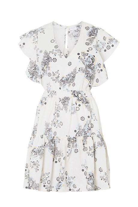 """<p>Savannah Dress in Light Oriental, $259, <a href=""""https://www.steelelabel.com/shop/savannah-dress-light-oriental/"""" target=""""_blank"""">Steele</a>."""
