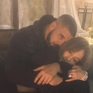 Drake and Jennifer Lopez.