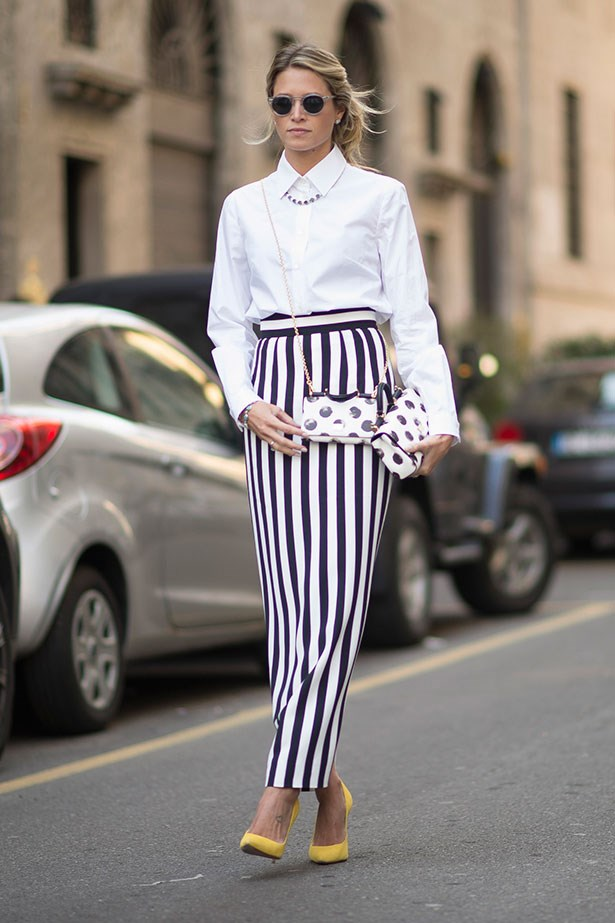 <strong>8. Buy A Pair Of Eye-Catching Trousers </strong> <br></br> Because jeans only go so far. Enough said.