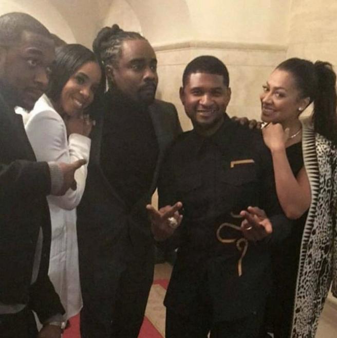 "Jay Pharoah, Usher, Wale, Kelly Rowland, La La Anthony <br><br> <a href=""https://www.instagram.com/p/BO8V_RjhHEO/"">@jaypharoah</a>"
