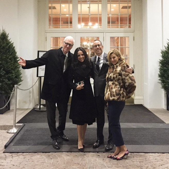 """Julia Louis-Dreyfus and Jerry Seinfeld <br><br> <a href=""""https://www.instagram.com/p/BO-3QaGjbn_/?taken-by=officialjld"""">@officialjld</a>"""