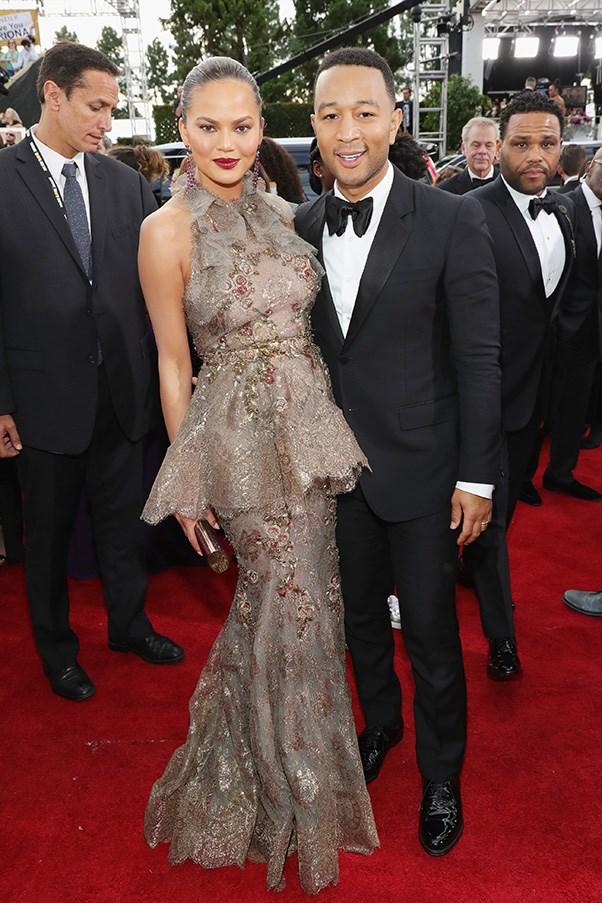 Chrissy Teigen and John Legend.