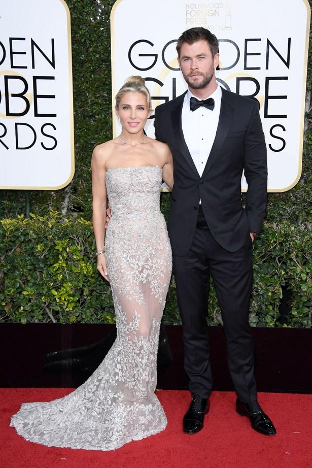 Elsa Pataky and Chris Hemsworth.