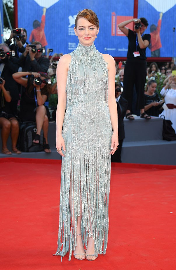 <p>Emma wowed in Atelier Versace at the premiere of <em>La La Land</em> and opening ceremony red carpet of the 2016 Venice Film Festival.