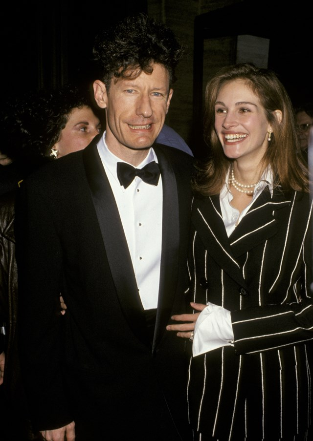<p> <strong>Who?</strong> Julia Roberts and Lyle Lovett. <p> <strong>How long?</strong> Three weeks. <p> <strong>Did it last?</strong> After meeting on the set of The Player, Julia and Lyle famously met, got engaged and married in the space of three weeks in 1993. They divorced after less than two years of marriage.