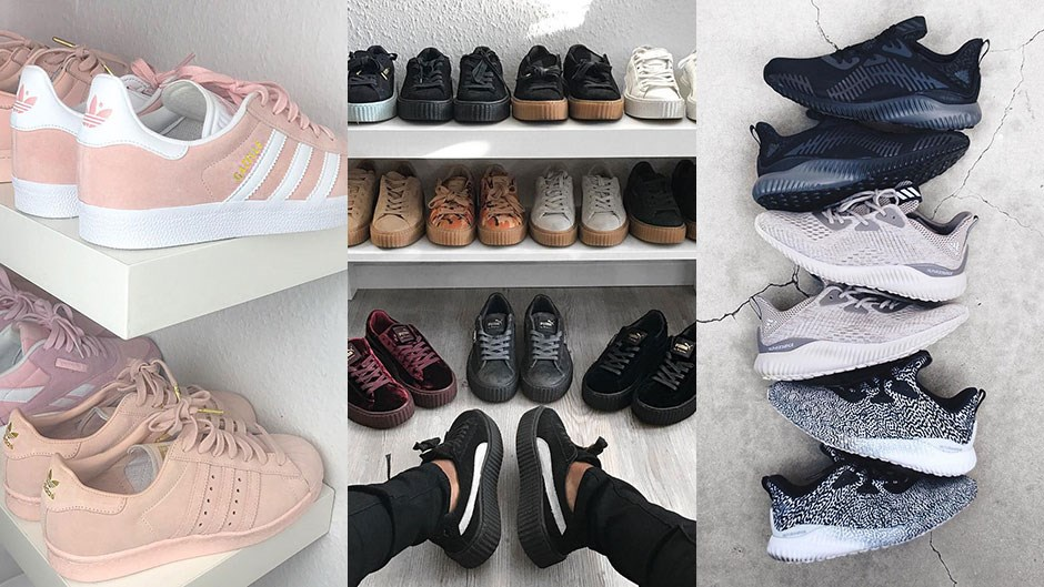 <p>The following women have sneaker collections so good you'll be dreaming about them for days.