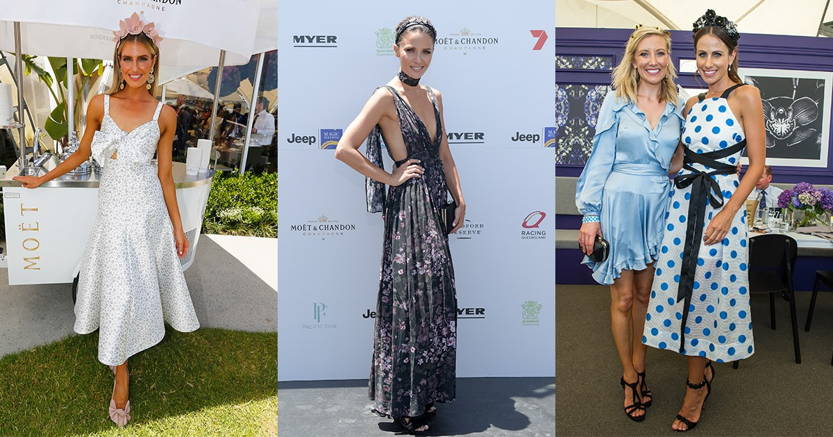 We take a look at the best dressed from yesterday's Magic Millions Raceday.