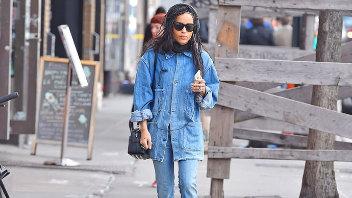 <em>ELLE</em> tracks the best off-duty fashion moments from cool-girl Zoë Kravitz.