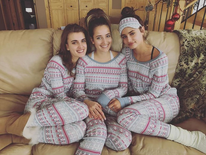 "<p>The three sisters together. <p>Image: <a href=""https://www.instagram.com/p/BOdAtlhg-iT/"">@taylor_hill</a>"