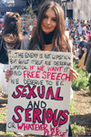 celebrities support women's march
