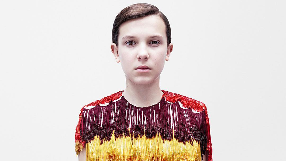 Millie Bobby Brown feels 'honoured' modelling Calvin Klein By Appointment range