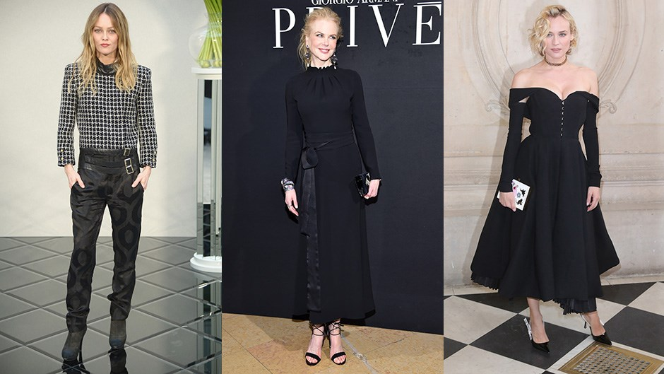 We chart the top celebrity moments from couture fashion week in Paris.