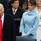 This 'Icy' Exchange Between Melania And Donald Trump At The Inauguration Is Going Viral image