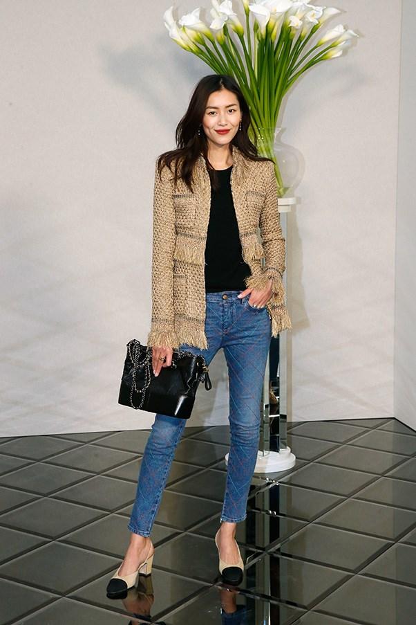 Liu Wen at Chanel