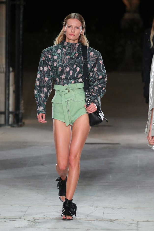 <p>Evidence #8: Isabel Marant presents belted shorts in its Spring/Summer 2017.