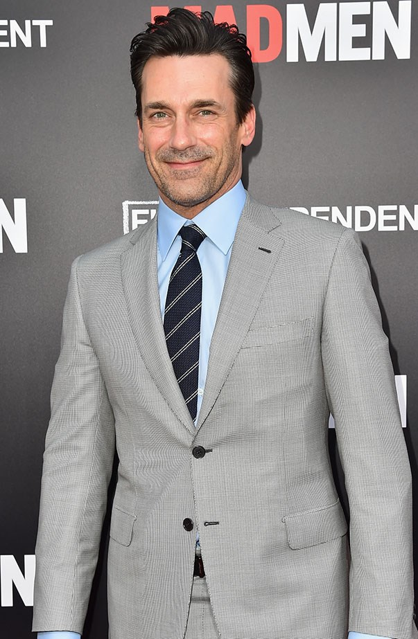 """<p><strong>Jon Hamm</strong> <p>It's been two years since <em>Mad Men</em> finished up on TV, but don't expect leading man Jon Hamm to binge-watch it. He told <a href=""""http://www.usmagazine.com/celebrity-news/news/jon-hamm-says-he-never-watches-old-mad-men-episodes-w463575"""" target=""""_blank""""><em>Us Weekly</em></a>, """"It's always weird. Because inevitably, you're gonna think something looks terrible. Or is terrible. And unfortunately, it's the internet that points those things out."""" He also said he tends to avoid the internet """"as it pertains to me."""""""