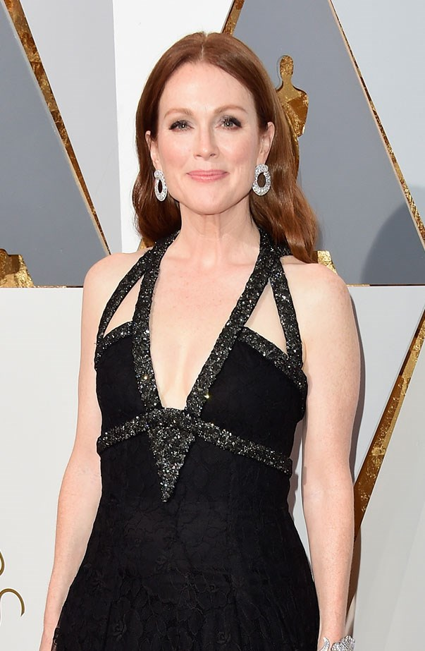 """<p><strong>Julianne Moore</strong> <p>""""I haven't seen any of my own movies… I can't sit there for a premiere or anything,"""" Julianne told Britain's <a href=""""http://blog.sfgate.com/dailydish/2013/10/22/julianne-moore-i-havent-seen-any-of-my-own-movies/"""" target=""""_blank""""><em>Daily Express</em></a> in 2013. """"I like being in the movie more than I like watching them. That's my big thrill, rather than seeing the finished product."""""""