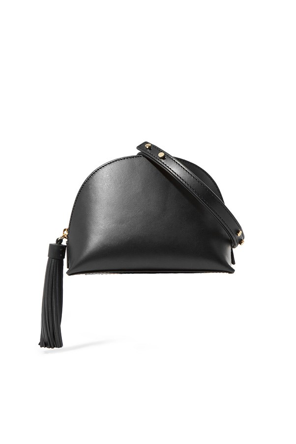 "Shoulder bag by Loeffler Randall, $267 at <a href=""https://www.net-a-porter.com/au/en/product/801219/Loeffler_Randall/tasseled-leather-shoulder-bag"">Net-a-Porter</a>"