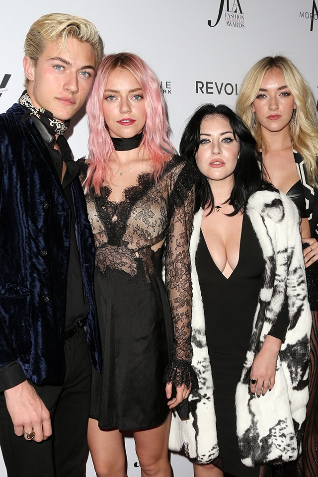 Model siblings? Try model family. The all-American Smiths, including <strong>Lucky Blue, Pyper America, Starlie Cheyenne,</strong> and <strong>Daisy Clementine</strong> (no we're not making those names up), are all making waves.