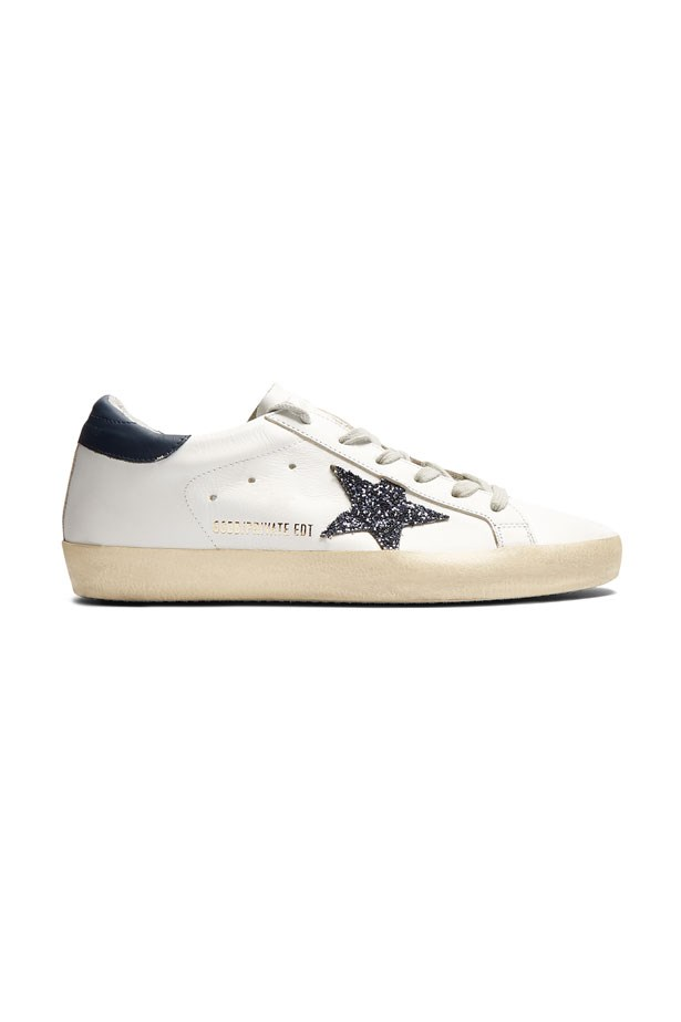 """Golden Goose Deluxe  Superstar Low, $474 at <a href=""""http://www.matchesfashion.com/products/Golden-Goose-Deluxe-Brand-Super-Star-low-top-leather-trainers%09-1074297"""">Matches Fashion</a>."""