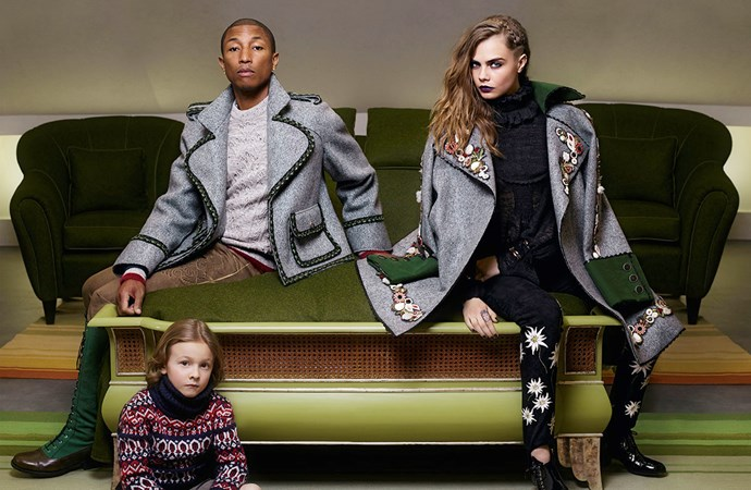 <p>Pharrell Williams might not have been involved in the rap game for a minute, but his Chanel campaign is worthy of mention.