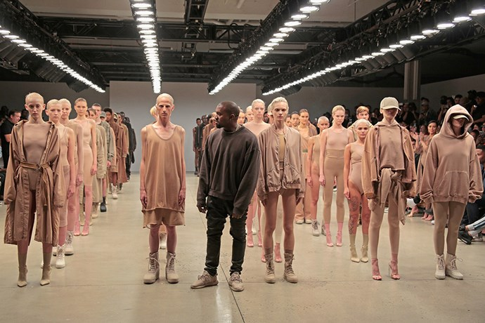 <p>And it wouldn't be a rappers in fashion feature if we didn't include Kanye West's highly-controversial YEEZY line.