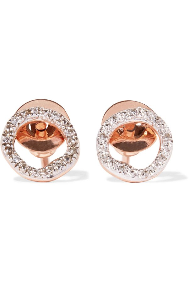 "<p>Monica Vinader earrings, $320 at <a href=""https://www.monicavinader.com/au/riva-diamond-circle-stud-earrings/rose-gold-vermeil-riva-diamond-circle-stud-earrings-diamond?search=%2Fshop%2Fearrings&utm_source=LS&utm_medium=affil&utm_campaign=TnL5HPStwNw&ranMID=38267&ranEAID=TnL5HPStwNw&ranSiteID=TnL5HPStwNw-uVR4OJ3DCLhzKxg0fSaC8w&siteID=TnL5HPStwNw-uVR4OJ3DCLhzKxg0fSaC8w#slide-2"">Monica Vinader</a>"