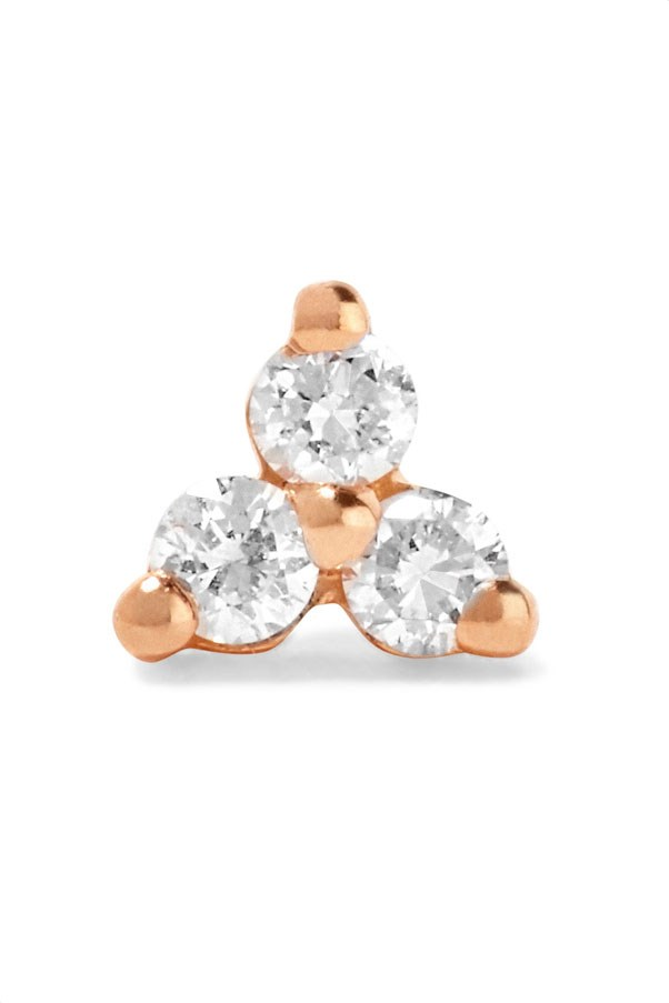 "<p>Maria Tash earrings, $302 at <a href=""https://www.net-a-porter.com/au/en/product/822423/maria_tash/tiny-14-karat-rose-gold-diamond-earring?cm_mmc=LinkshareUK-_-TnL5HPStwNw-_-Custom-_-LinkBuilder&siteID=TnL5HPStwNw-uL9868YMkOtq_bVgZXvOyQ"">Net-a-Porter</a>"