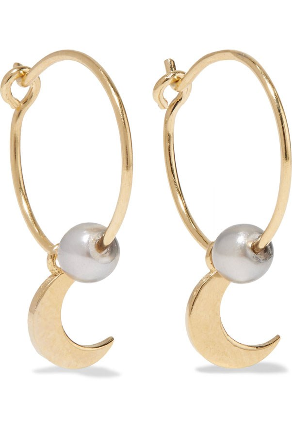 "<p>IAM by Ileana Makri earrings, $289 at <a href=""https://www.net-a-porter.com/au/en/product/827188/iam_by_ileana_makri/satelite-moon-gold-plated-pearl-earrings?cm_mmc=LinkshareUK-_-TnL5HPStwNw-_-Custom-_-LinkBuilder&siteID=TnL5HPStwNw-_ur5TEoQ9a3mewthhhEB1A"">Net-a-Porter</a>"