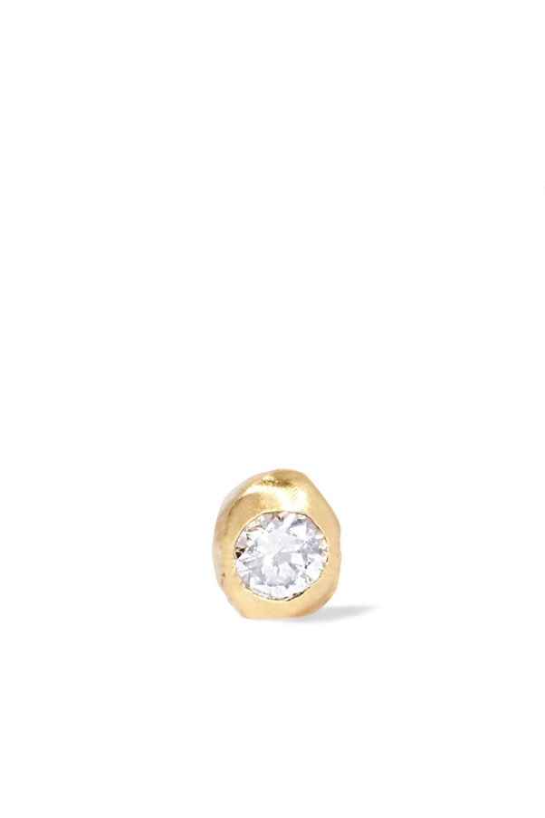 "<p>Wwake earring, $156 at <a href=""https://www.net-a-porter.com/au/en/product/838376/wwake/nugget-10-karat-gold-diamond-earring?cm_mmc=LinkshareUK-_-TnL5HPStwNw-_-Custom-_-LinkBuilder&siteID=TnL5HPStwNw-BYh_adWqRXv9xFi_M2UpFg"">Net-a-Porter</a>"