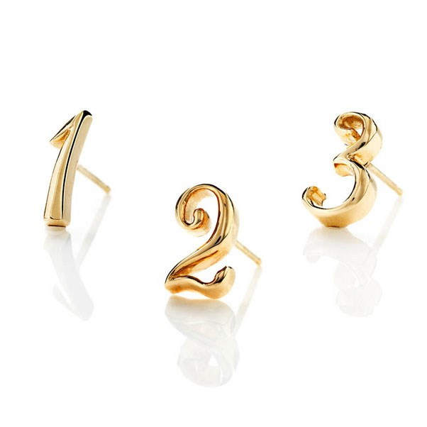 "<p>Lulu Frost earring, approx. $254 at <a href=""https://www.lulufrost.com/EARRINGS/CODE-NUMBER-EARRING-14K-YELLOW-GOLD-11417.html"">Lulu Frost</a>"