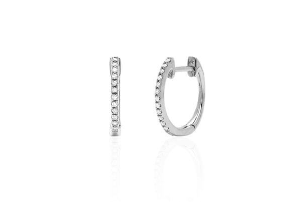 "<p>EF Collection earring, approx. $684 at <a href=""http://www.efcollection.com/collections/earrings/products/diamond-huggie-wg"">EF Collection</a>"