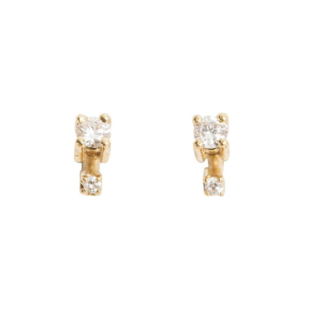 "<p>Catbird earrinsgs, approx. $393 at <a href=""https://www.catbirdnyc.com/jewelry/earrings/big-spark-earring-single.html"">Catbird</a>"