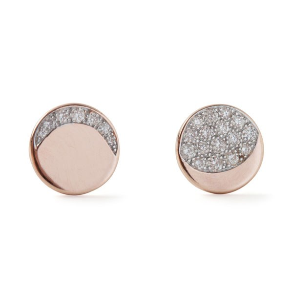 "<p>Pamela Love earrings, approx. $1,564 at <a href=""https://www.catbirdnyc.com/jewelry/earrings/moon-phase-studs.html"">Catbird</a>"
