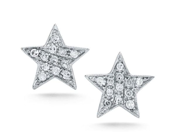 "<p>Dana Rebecca earrings, approx. $573 at <a href=""https://www.danarebeccadesigns.com/julianne-himiko-white-gold-star-earrings-e798"">Dana Rebecca</a>"