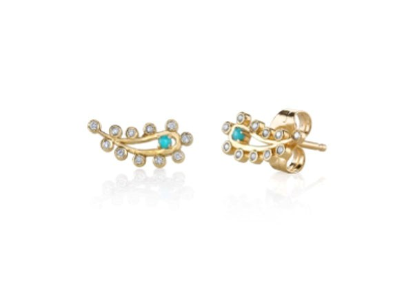 "<p>Sydney Evan earring, approx. $863 at <a href=""http://www.sydneyevan.com/catalog/product/view/id/2700/category/4/?__country=AU"">Sydney Evan</a>"