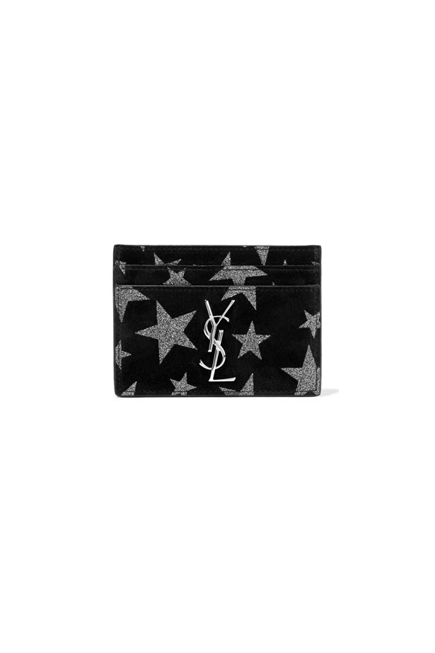 "Card Holder, $302, Saint Laurent at <a href=""http://rstyle.me/n/cehyiwvs36"">Net-A-Porter</a>."