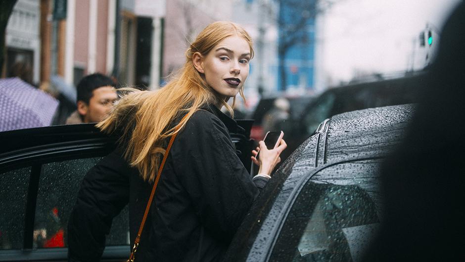 Model street style.