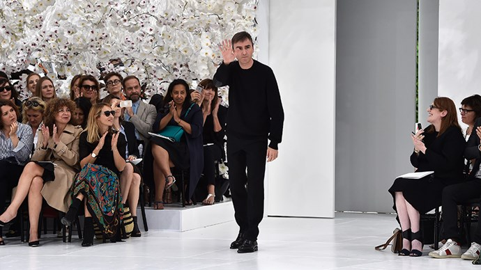 <strong>Raf Simons debuts his first collection for Calvin Klein</strong><br><br> Dior's former designer is expected to gift Calvin Klein with his Midas touch. His first collection for CK will debut at New York fashion week, no doubt drawing an impressive crowd of A-listers and fashion folk.
