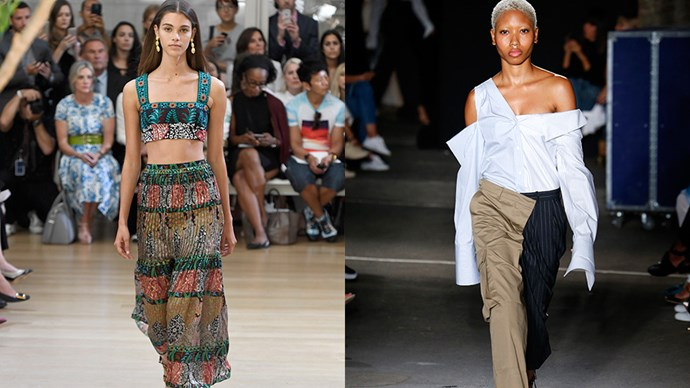<strong>Oscar de la Renta and Monse join forces</strong><br><br> In an unexpected move, storied New York fashion house Oscar de la Renta and label-on-the-rise Monse will be combining shows this season. Laura Kim and Fernando Garcia, who are creative directors of both brands, will debut their collections one after another on Monday February 13th.