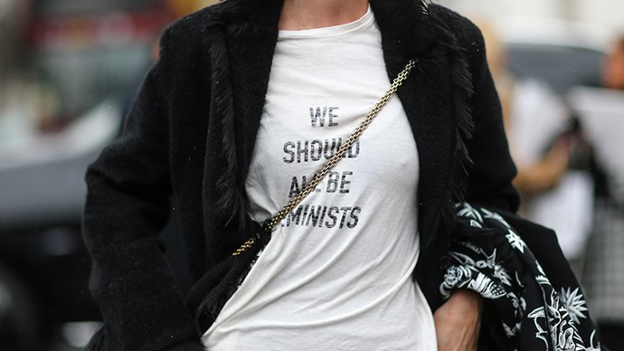 <p><strong>The Dior 'We Should All Be Feminists' shirt</strong><p><p> If you think you saw this shirt around a lot before, prepare to see it a whole lot more. The chic, well-fitting and artfully-faded tee is bound to get a bit of love from editors, models and bloggers alike.