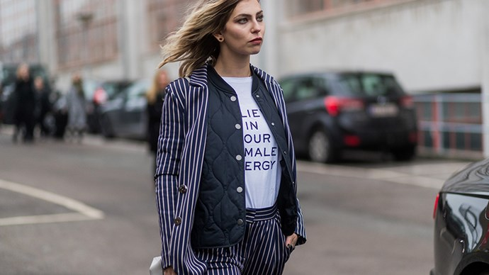 "<p><strong>Any political statement shirt</strong><p><p> They might not be carrying picket signs, but we think a few signs of a different kind are probably on the cards. A few tees, including this 'Believe In Your Female Energy' one by Dorothee Schumacher, Google Ghost's 'Nasty Woman' one and <a href=""http://www.elle.com.au/fashion/instant-style/2017/1/chic-feminist-tshirts-for-a-cause/"">practically any other</a>, will be making an appearance or two."