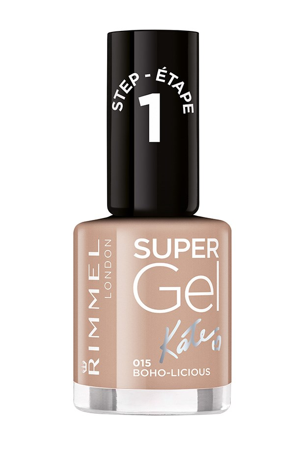 "<strong>Try gel and don't look back</strong> <br> <br> Gel formulas are thicker and glossier, meaning you can get away with one quick coat. Double bonus: A deep nude like Boho-licious  suits nearly every skin tone, making it a quick colour win. <br> <br> Don't forget to count your brush bristles. Look for dense nail polish brushes and work in really short strokes to get an opaque finish. <br> <br> Sally Hansen and Essie have both recently upped their bristle count for easier application, OPI and Rimmel are always safe choices too. <br> <br> Rimmel London Super Gel Nail Polish by Kate, $9.95 at <a href=""http://https://www.priceline.com.au/rimmel-super-gel-nail-polish-12-ml"">Priceline</a>"