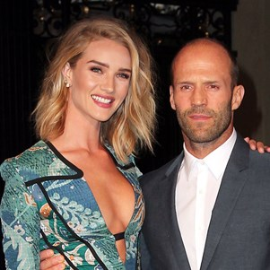 Rosie Huntington-Whiteley and Jason Statham.