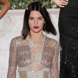 kendall jenner naked dress new york fashion week