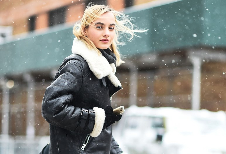 <p>Here, the fashion crowd show us how to dress for a snowstorm with the best street style from New York fashion week days one and two.