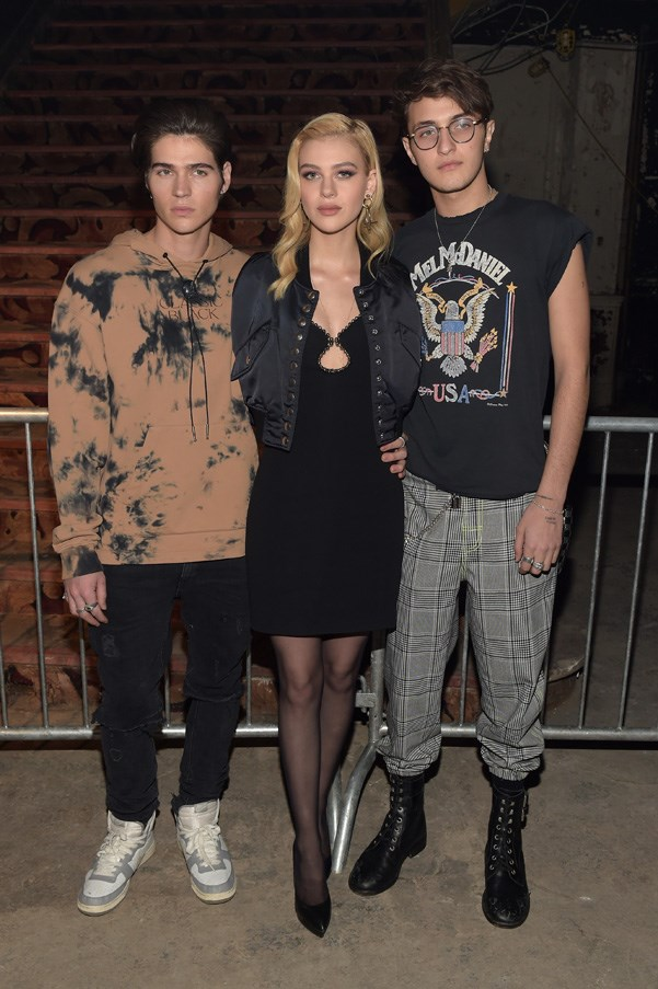 <p><strong>Alexander Wang</strong> <BR><BR> William Peltz, Nicola Peltz, and Anwar Hadid