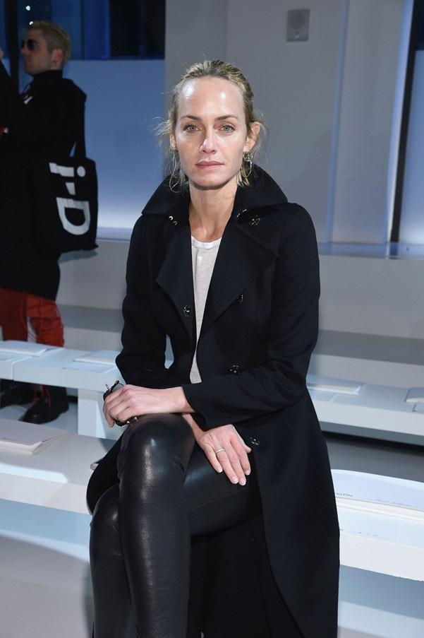 <p><strong>Calvin Klein</strong> <BR><BR> Amber Valletta