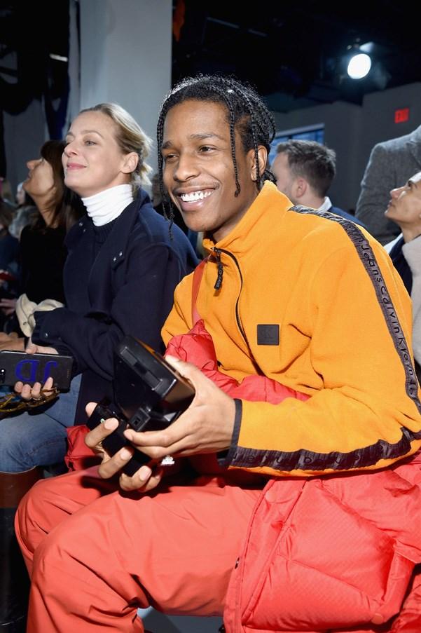 <p><strong>Calvin Klein</strong> <BR><BR> A$AP Rocky