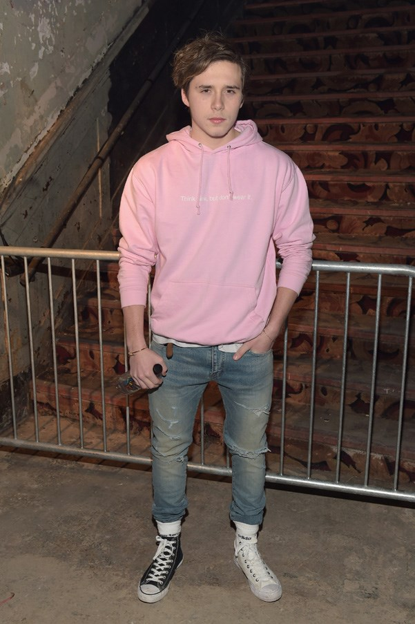 <p>Brooklyn Beckham